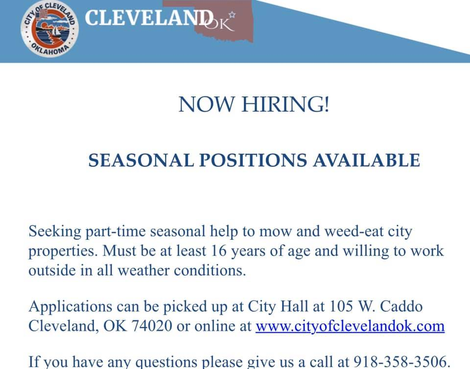 seasonal job