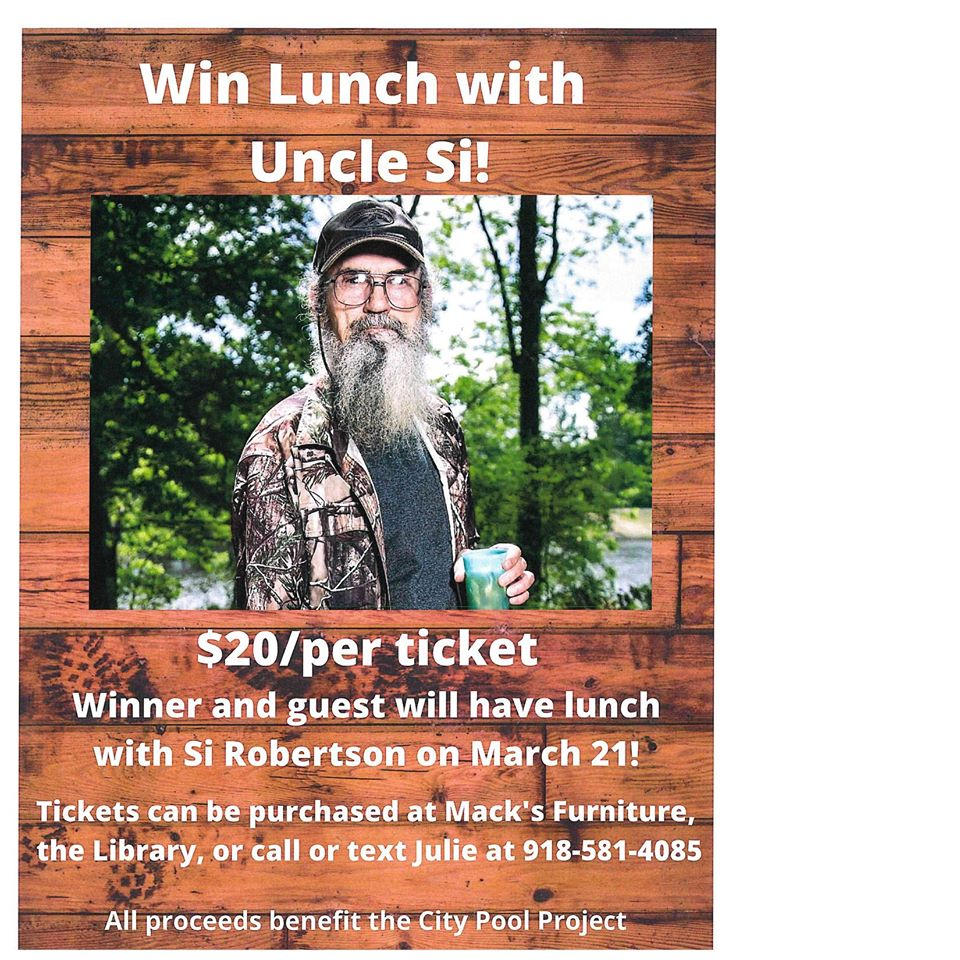 lunch with uncle si